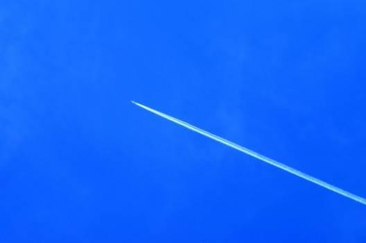 s-飛行機雲