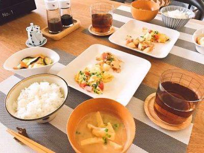 s-みくり飯ある日の朝食